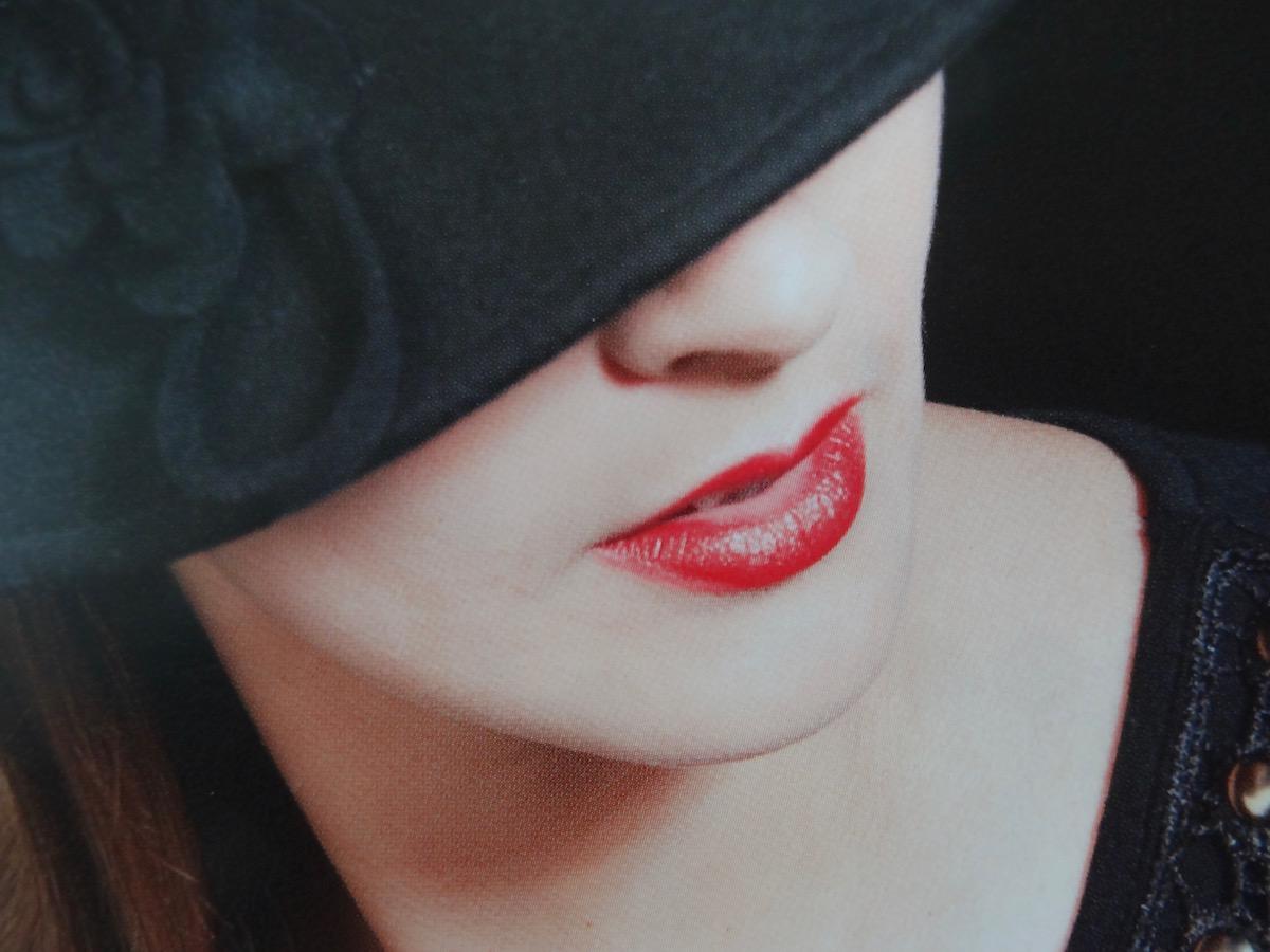 maquillage rouge à lèvres