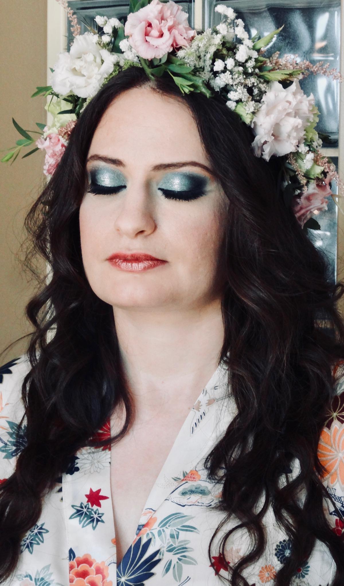 maquillage coiffure intense mariage